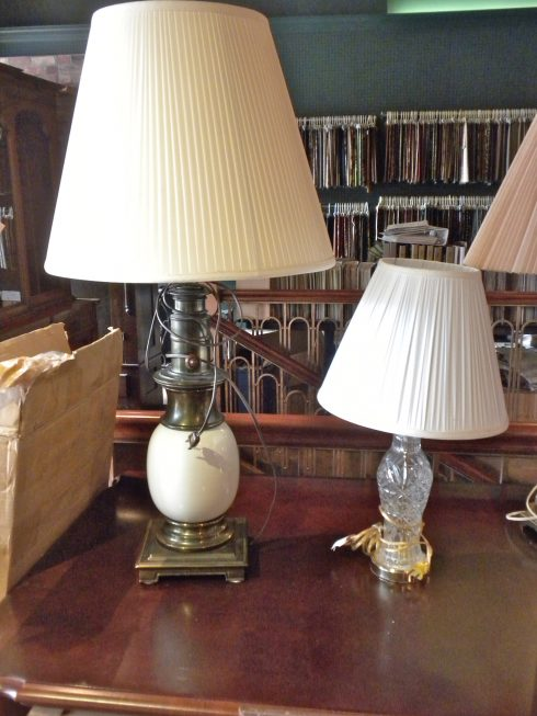 Lampshade Repair and Restoration