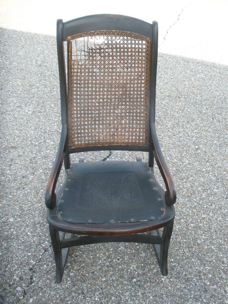 Before & After: Cane Chair Repair and Restoration
