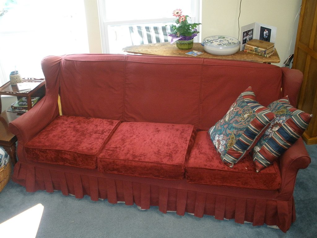 Before & After: Couch Repair and Restoration