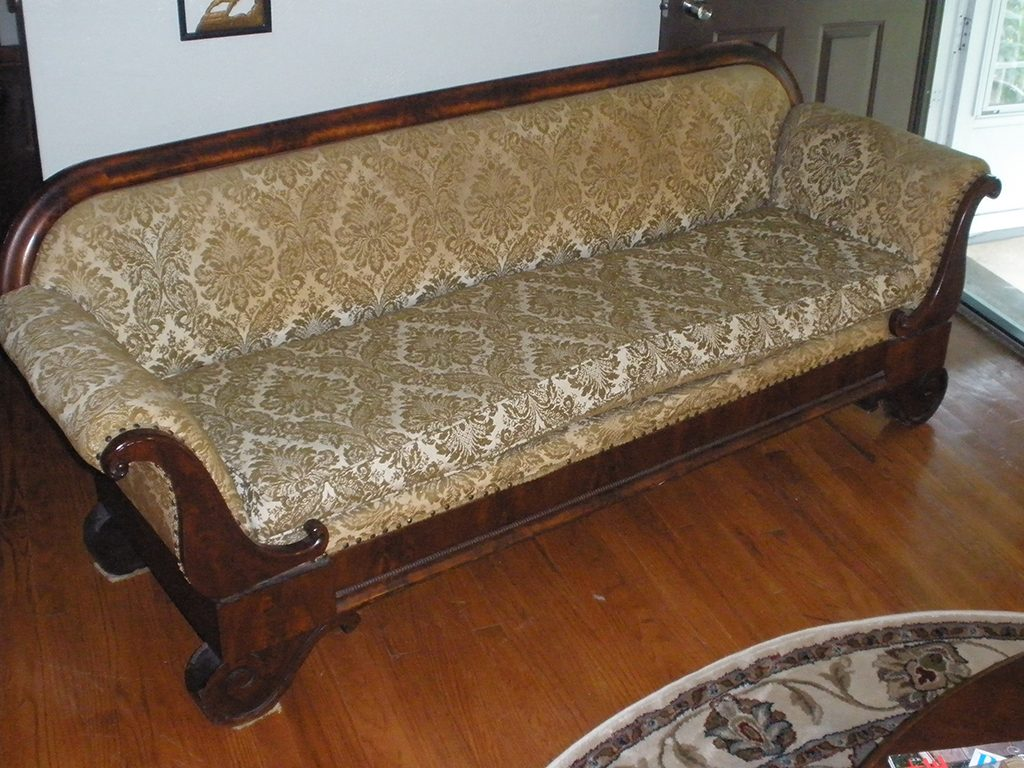 Before & After: Classic Sofa Repair and Restoration