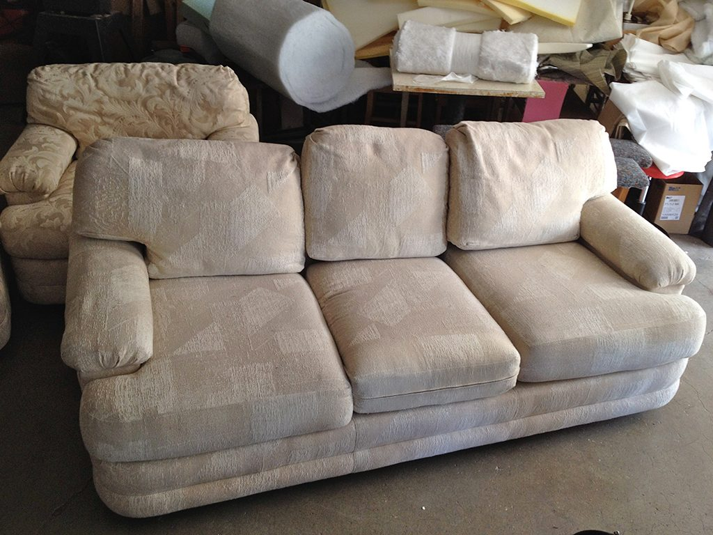 Before & After: Modern Living Room Sofa Repair and Restoration